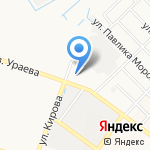 Экспресс кафе на карте Йошкар-Олы