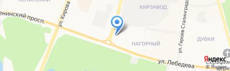 Находка на карте Йошкар-Олы