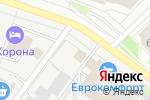 Схема проезда до компании Автокраски в Йошкар-Оле