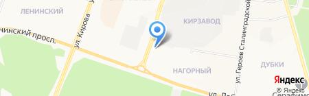 Почтовое отделение №40 на карте Йошкар-Олы