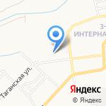 Детский сад №44 на карте Астрахани