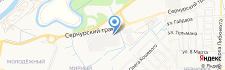 ЮТЕК на карте Йошкар-Олы