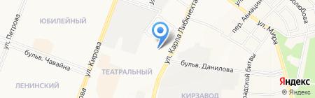 Детский сад №49 Лесная сказка на карте Йошкар-Олы