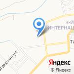 Магазин хозтоваров на карте Астрахани
