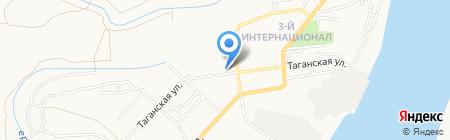 Средняя общеобразовательная школа №53 им. Н.М. Скоморохова на карте Астрахани