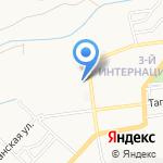 Почтовое отделение №17 на карте Астрахани