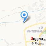Мартис на карте Астрахани