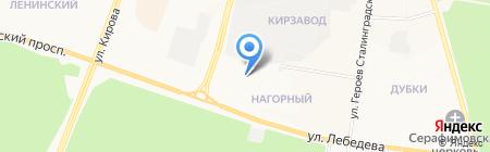 Центр Государственной инспекции по маломерным судам по Республике Марий Эл на карте Йошкар-Олы