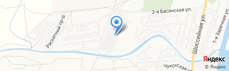Пассажирское автотранспортное предприятие №3 на карте Астрахани