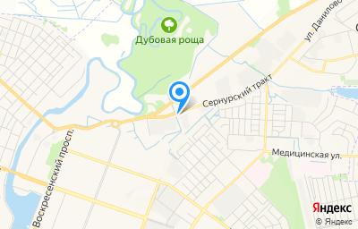 Местоположение на карте пункта техосмотра по адресу г Йошкар-Ола, тракт Сернурский, д 18