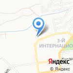 Инна на карте Астрахани