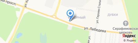 Универсал на карте Йошкар-Олы
