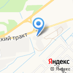 Центр ГАЗ на карте Йошкар-Олы