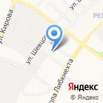 Библиотека №19 на карте Йошкар-Олы