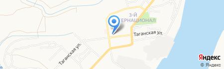 ЖЭК №6 на карте Астрахани
