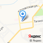 А.С. на карте Астрахани