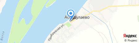 Обжорка на карте Ассадулаево