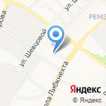Велесов Дом на карте Йошкар-Олы