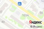 Схема проезда до компании Загляни в Йошкар-Оле