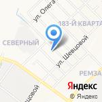 Служба аренды спецтехники на карте Йошкар-Олы