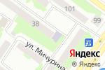 Схема проезда до компании Юность в Йошкар-Оле