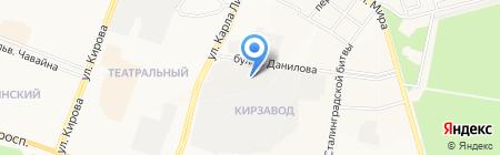 Авторазбор на карте Йошкар-Олы