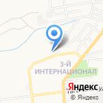 Поликлиника №4 на карте Астрахани