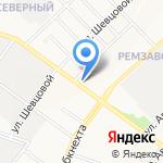 Почтовое отделение №5 на карте Йошкар-Олы