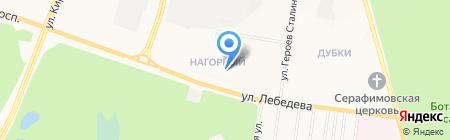 Метро на карте Йошкар-Олы