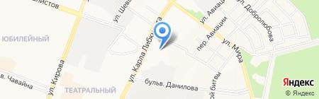 Квартирное бюро на карте Йошкар-Олы