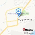 Связьлайн на карте Астрахани