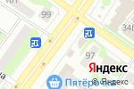 Схема проезда до компании Газета в Йошкар-Оле