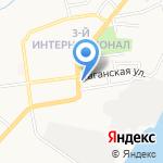 Савой на карте Астрахани
