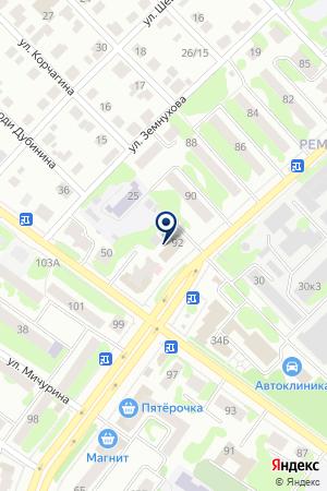 Отдел полиции №3 на карте Йошкар-Олы