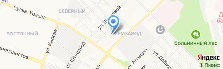 M-tour на карте Йошкар-Олы