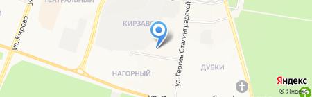 Надежда на карте Йошкар-Олы