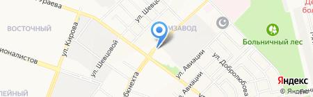 Очкарик`ОВ на карте Йошкар-Олы