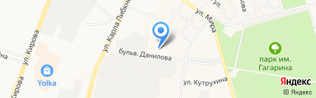 Всероссийское добровольное пожарное общество на карте Йошкар-Олы