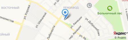 Ассоциация АйКиДо Республики Марий Эл на карте Йошкар-Олы