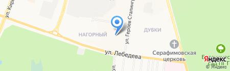 Государственная инспекция по маломерным судам на карте Йошкар-Олы