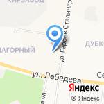 Отдел надзорной деятельности и профилактической работы городского округа г. Йошкар-Ола на карте Йошкар-Олы