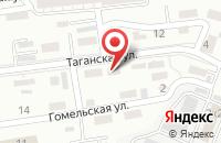 Схема проезда до компании Окна на Таганке в Астрахани