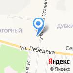 Военторг-центр на карте Йошкар-Олы