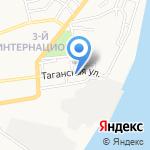 Окна на Таганке на карте Астрахани