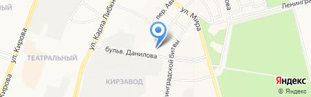 Пожарная часть №4 на карте Йошкар-Олы