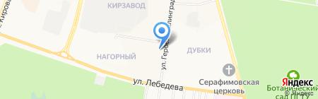 Поликлиника №3 г. Йошкар-Олы на карте Йошкар-Олы