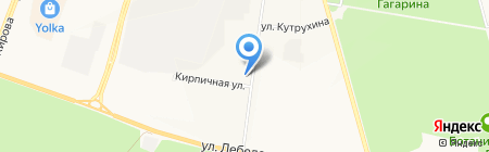 Авиценна на карте Йошкар-Олы