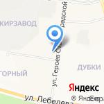 Библиотека №4 на карте Йошкар-Олы