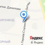 Ателье по ремонту одежды из меха на карте Йошкар-Олы