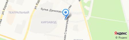 Библиотека №18 на карте Йошкар-Олы